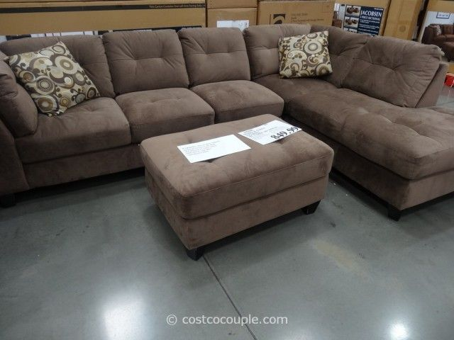 Jacobsen 3 Piece Sectional Costco Grey Sectional Sofa 2 Piece