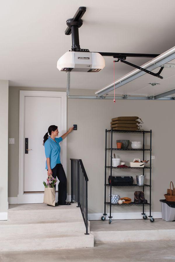 So Clean And Neat Spruceupmygarage And Sweepstakes Garage Door Opener Liftmaster Liftmaster Garage Door