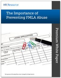 The Importance Of Preventing Fmla Abuse Hr Humanresources