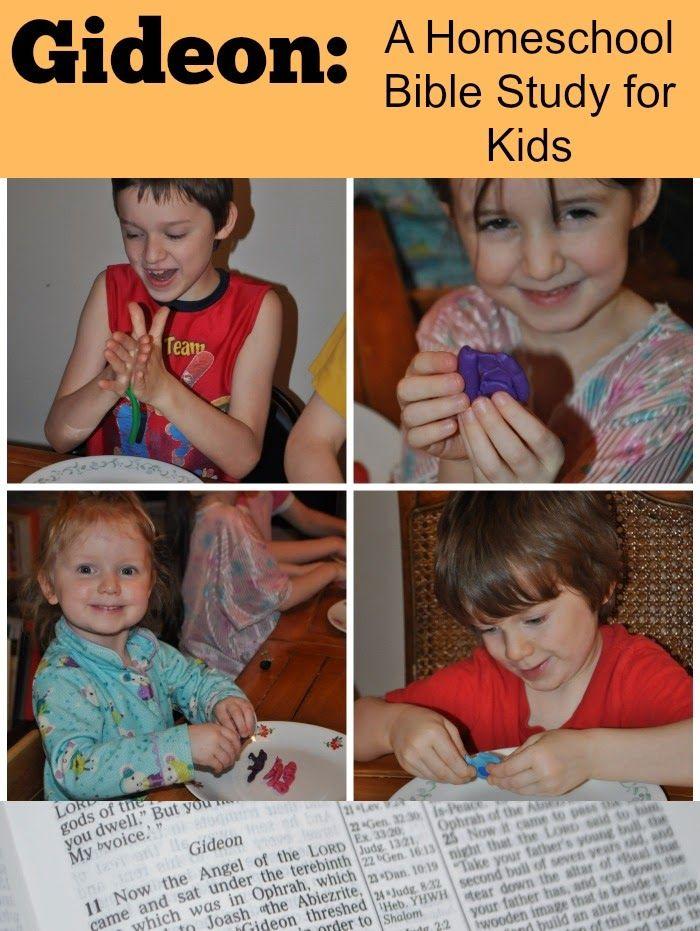 Gideon: A Homeschool Bible Study #devotions #oldtestament   Readers ...