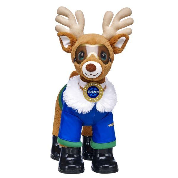 Santa S Reindeer Set Blitzen Build A Bear Cute Stuffed Animals Build A Bear Custom Teddy Bear