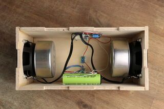make your own simple \u0026 cheap portable bluetooth speaker creative Parallel Speaker Wiring Diagram