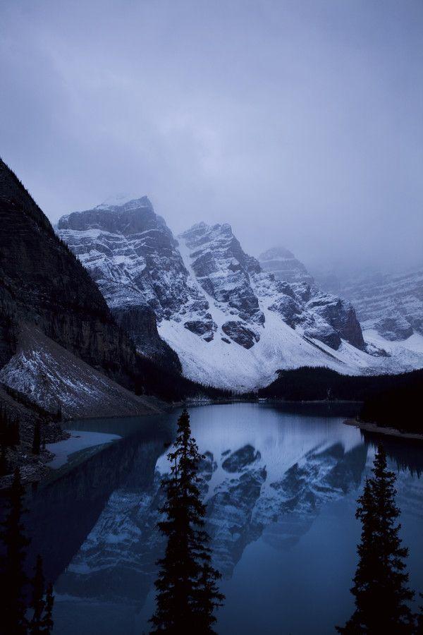 Morning at Moraine Lake by Kat Burns | Beautiful World