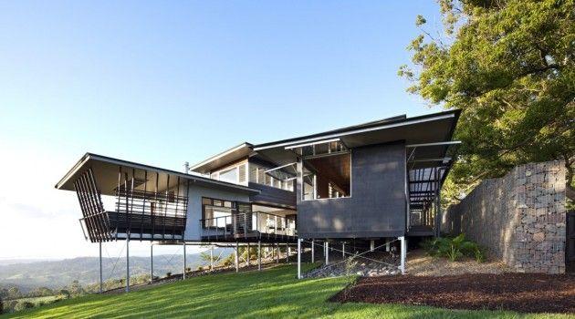maison sur pilotis bark design architects maison pilotis. Black Bedroom Furniture Sets. Home Design Ideas
