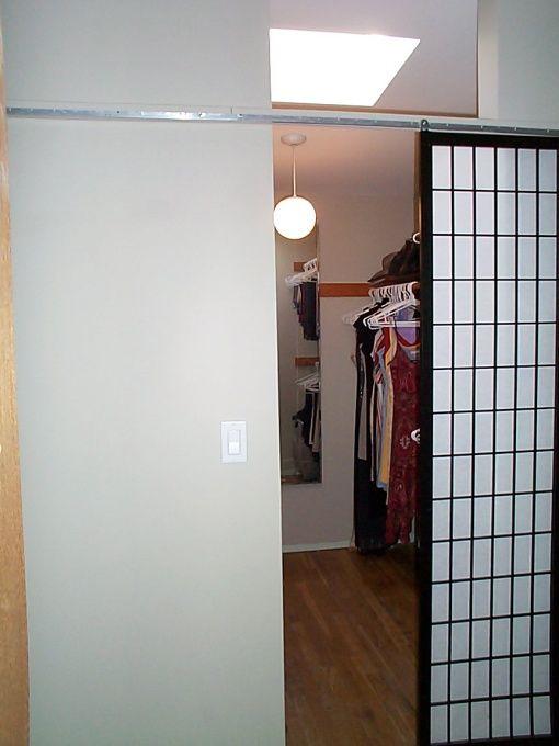 Closet Door Alternative Easy Drop Cloth Curtains Diy Closet