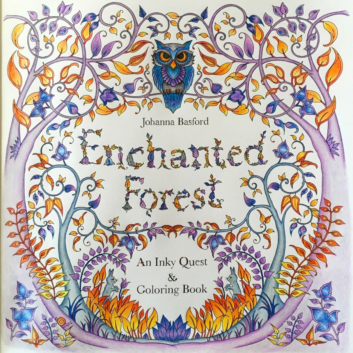 I Resisted For As Long Could But In The End Got On Coloring Book Bandwagon Enchanted Forest An Inky Quest And By Johanna