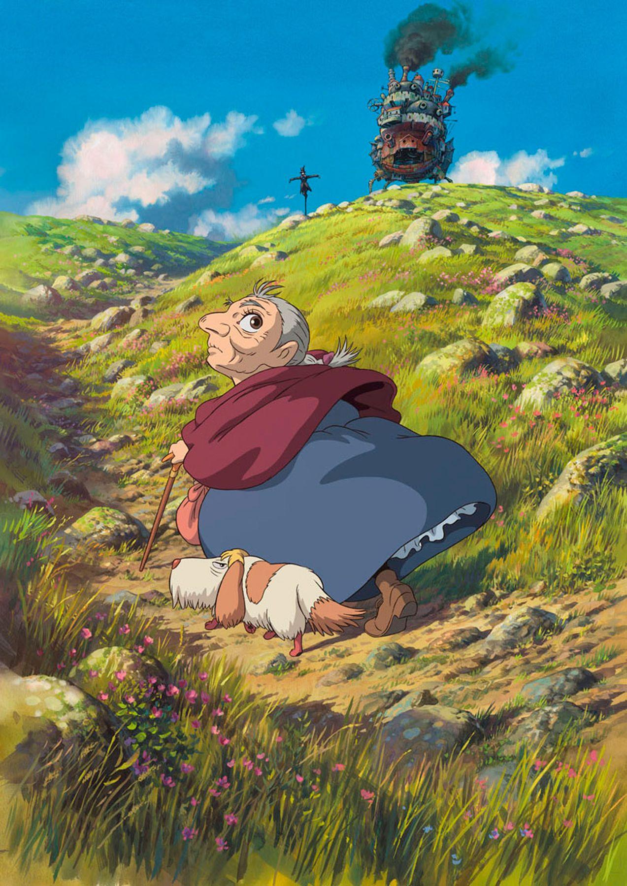 The Art Of Animation Hayao Miyazaki Le Chateau Ambulant Studio Ghibli Films Hauru