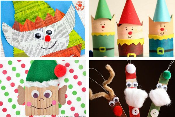 50+ Christmas Crafts for Kids Craft, Xmas and Christmas art