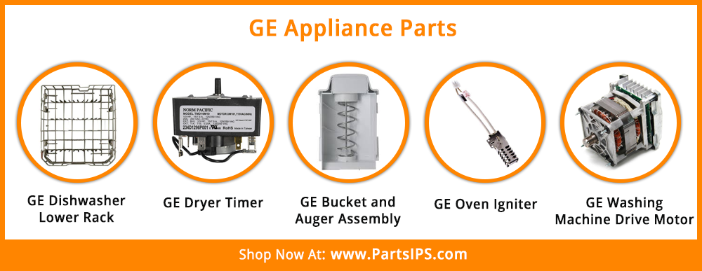 Partsips Has A Wide Range Of Ge Appliance Parts Ge Dishwasher Ge Appliances Appliance Parts