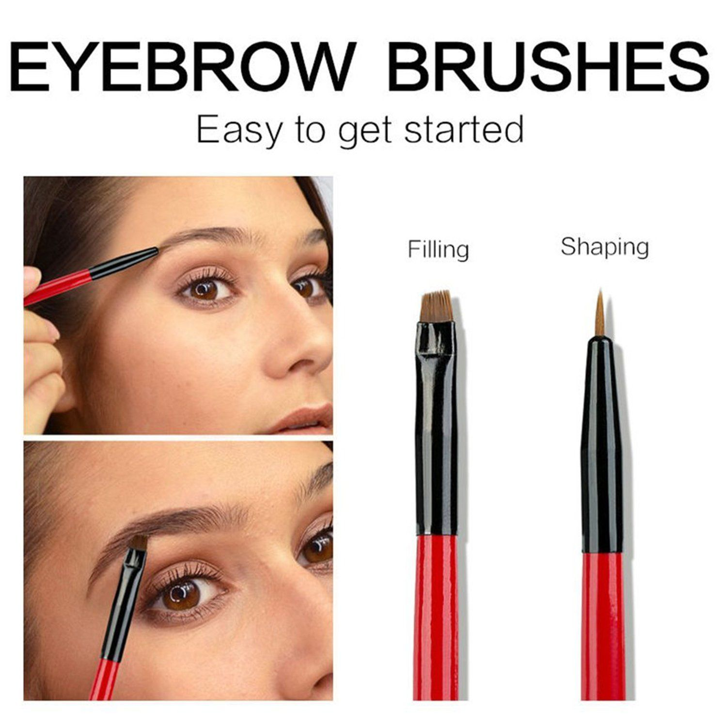 b3440f7aaa27 Waterproof Eyebrow Tint Gel Kit Long Lasting Brow Color Gel Mascara for  Eyebrow MakeupFlakeproofSmudgeproof Dark Brown    You can find more details  by ...