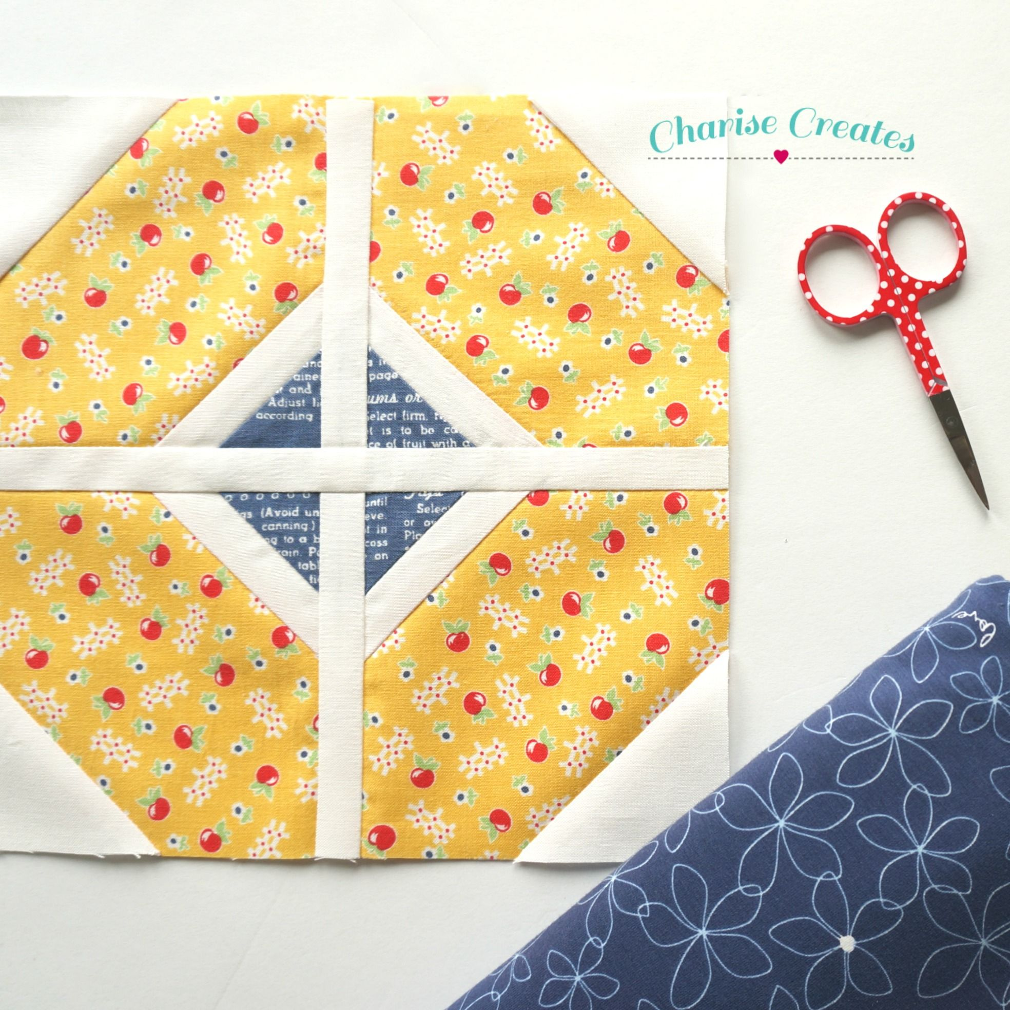 I Was Working On This Cute Apple Pattern From The New Book