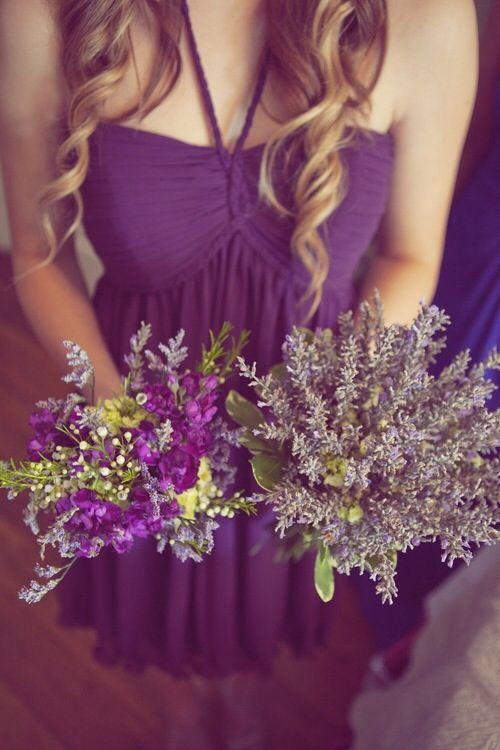 Lavender bouquets!