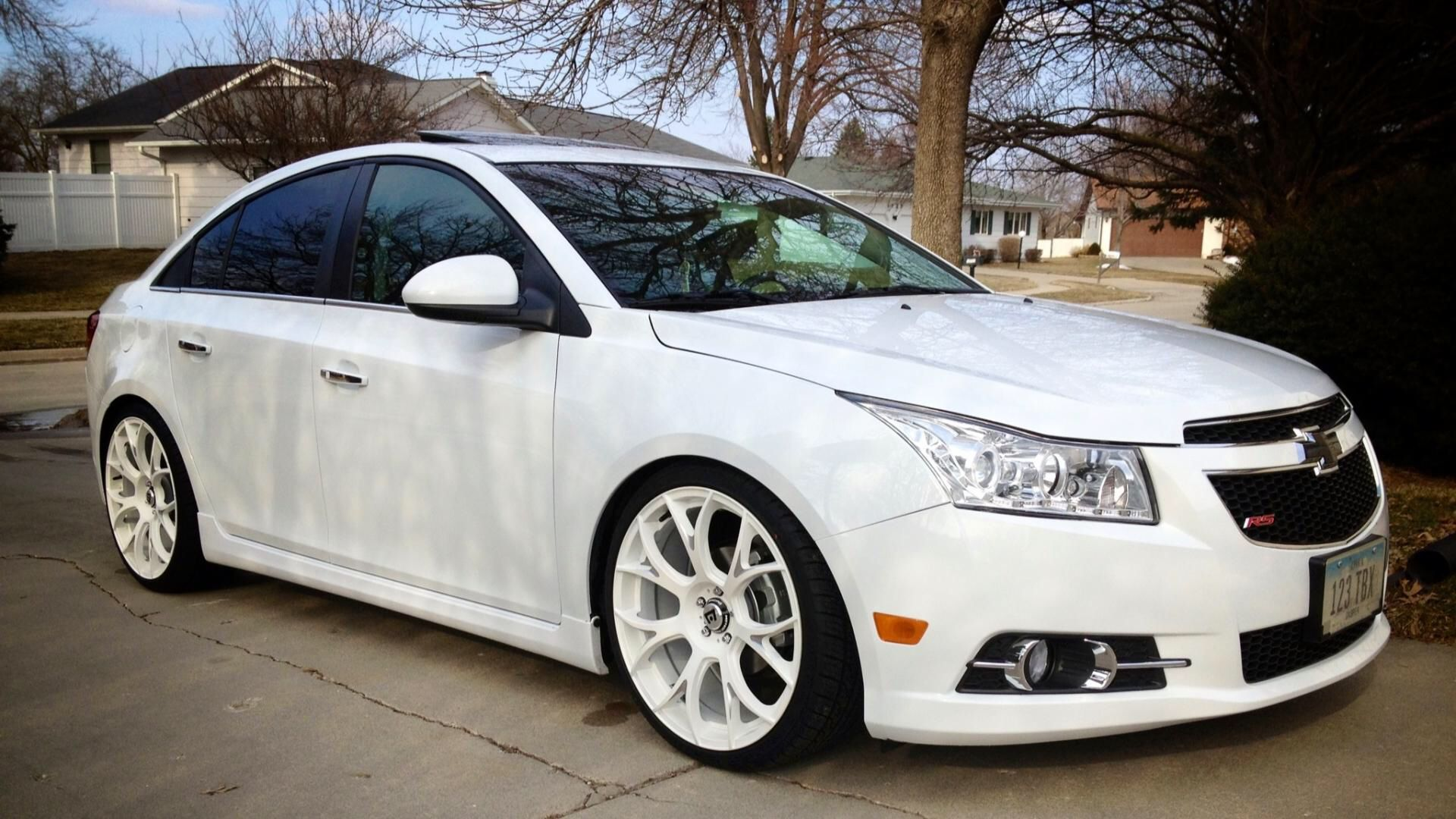 Need To Add These Rims To Our White Chevy Cruze Cruze