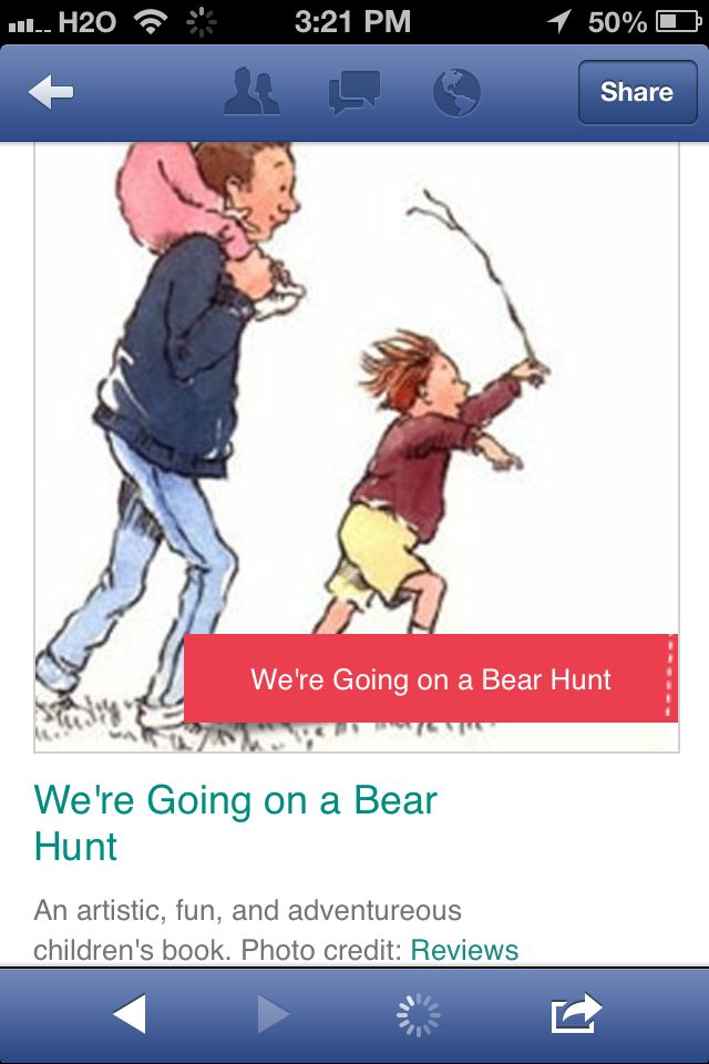We're Going on a Bear Hunt | Suggested Toddler Reading list
