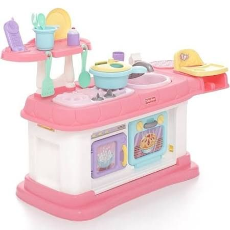 Superbe Fisher Price Grow With Me Cook And Care Kitchen, Pink
