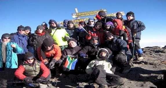 25 Blind Climbers Break World Record by Climbing Kilimanjaro