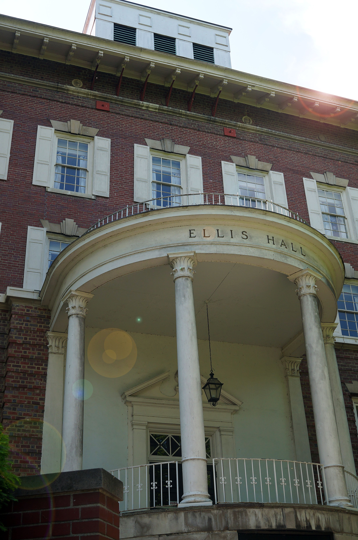 Ellis hall on the ohio university athens campus photo by