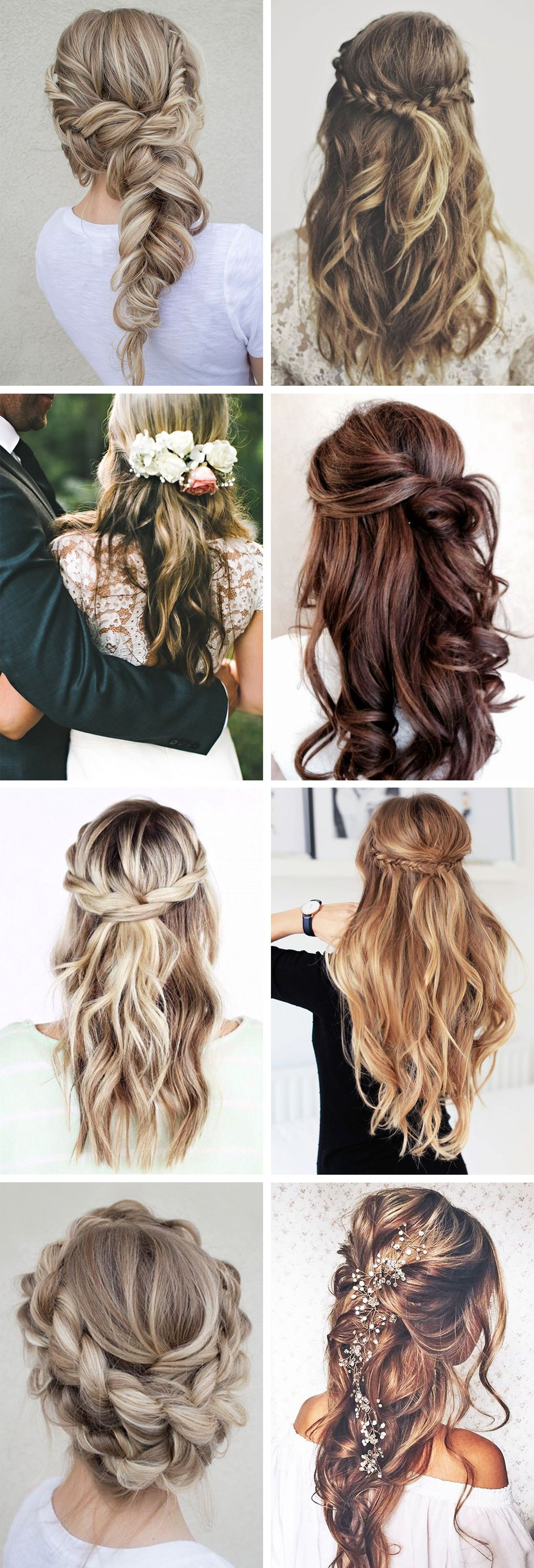 Wedding hair inspiration Christina Dueholm Pinterest