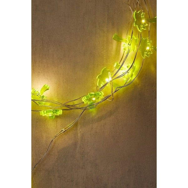 Palm Tree String Lights (17 AUD) ❤ Liked On Polyvore Featuring Home,  Outdoors