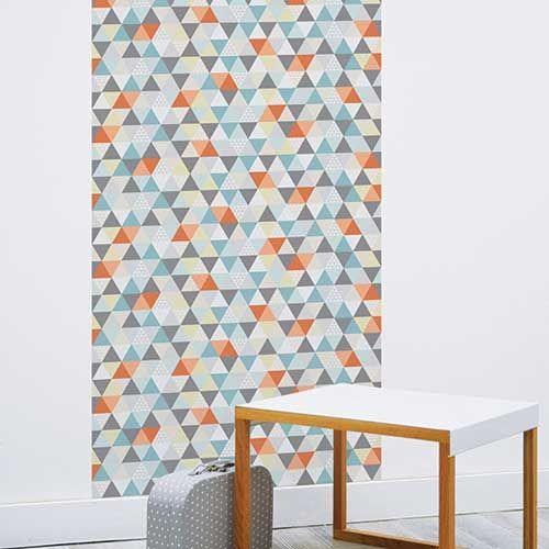 papier peint scandinave multicolore kal idoscope sophie cordier papier peint scandinave. Black Bedroom Furniture Sets. Home Design Ideas