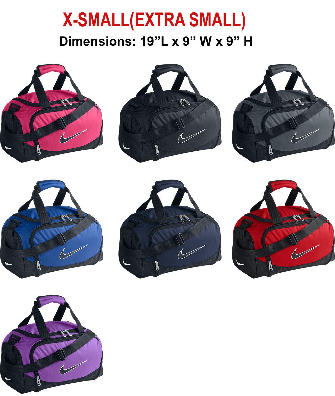 b47805f7e8b Nike Brasilia 5 X-Small Duffel Bag Grip Pink Black Grey Royal Navy Red  BA3235