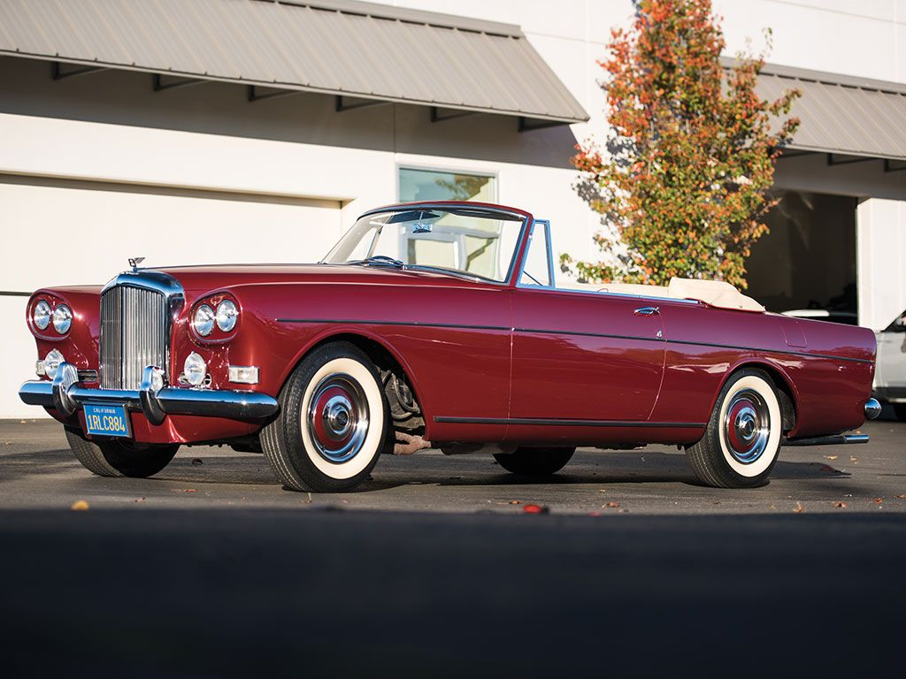 1965 Bentley S3 Continental Drophead Coupe by Mulliner Park Ward ...