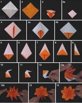 How Not To Work Pt 2 In 2020 Kwiaty Origami Skladanie Papieru Origami