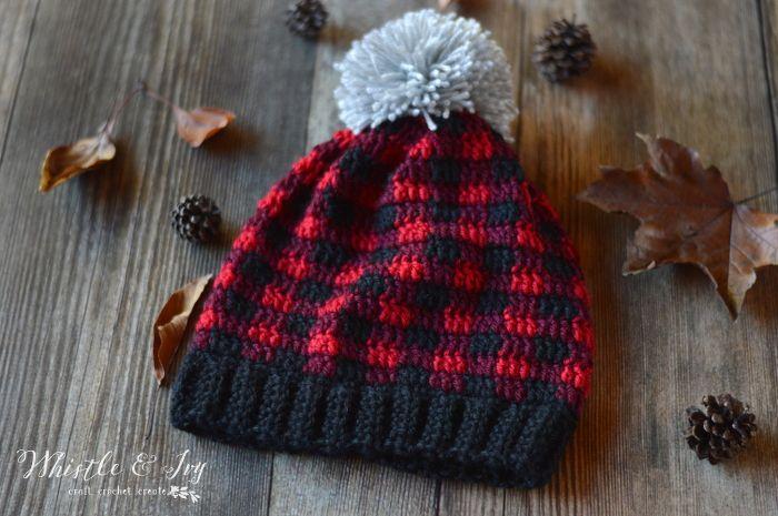 Crochet Plaid Arm Warmers | Schuhe häkeln, Häkeln anleitung und Mütze
