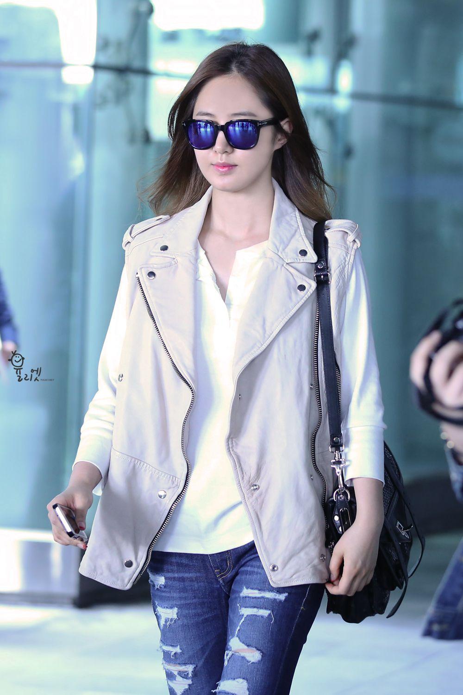 yuri snsd airport fashion may 2014 snsd airport fashion