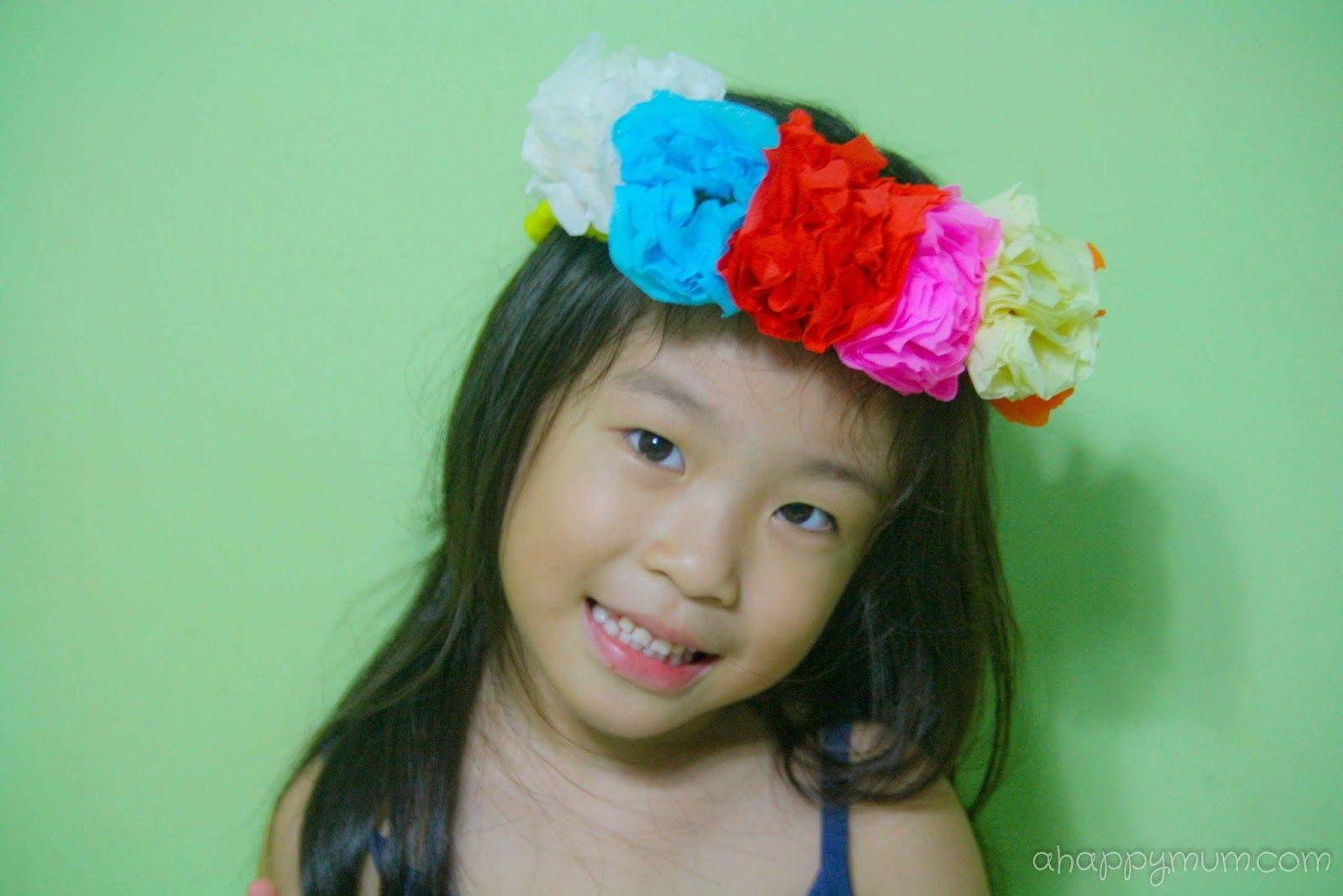 A happy mum singapore parenting blog diy flower crown for my a happy mum singapore parenting blog diy flower crown for my princess izmirmasajfo
