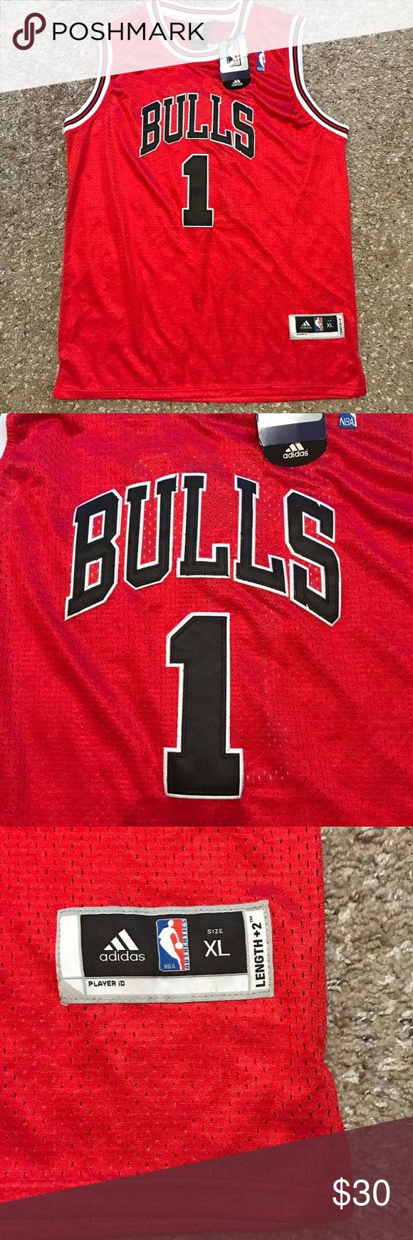 new arrival 9c34a 9a4e7 Derrick Rose Adidas NBA Jersey Chicago Bulls Get this ...