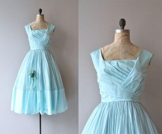 Pattullo Jo Copeland dress | vintage 1950s dress | silk 50s party ...