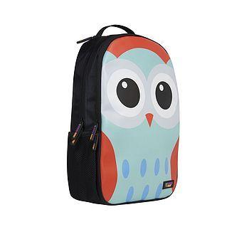 urban junk owly backpack by adventure avenue   notonthehighstreet.com