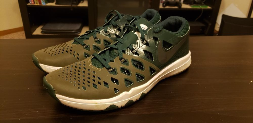 06e4e24bfedfd7 Lightly Used Nike Train Speed 4 Amp Michigan State Spartans Size 11  844102-309  fashion  clothing  shoes  accessories  mensshoes  athleticshoes  (ebay link)