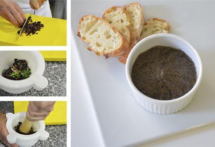 Aprende A Preparar Tapenade Paté De Aceituna Pate De Aceitunas Recetas De Comida Tapenade