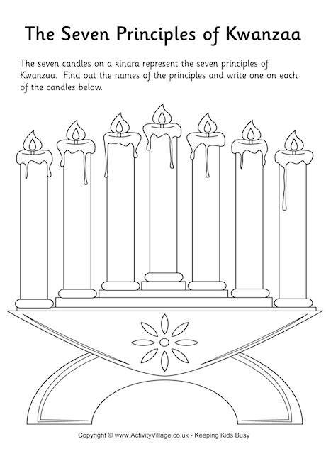 7 principles of Kwanzaa worksheet | Kwanzaa principles ...