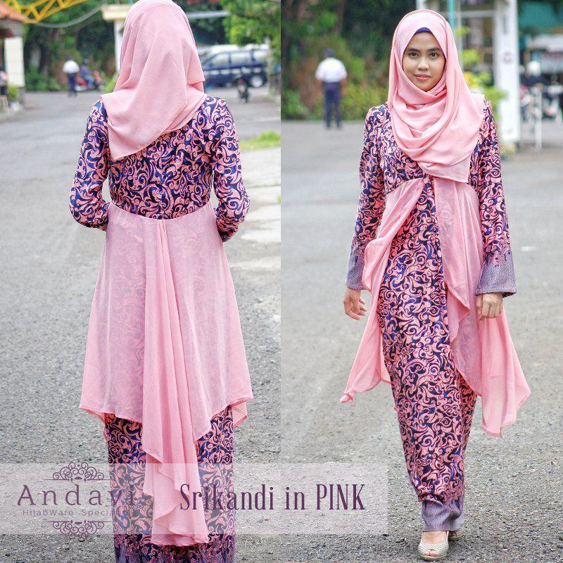 Model Gamis Batik Tulis Terbaru: Dress Gamis Batik Terbaru Untuk Pesta. Limited Hanya