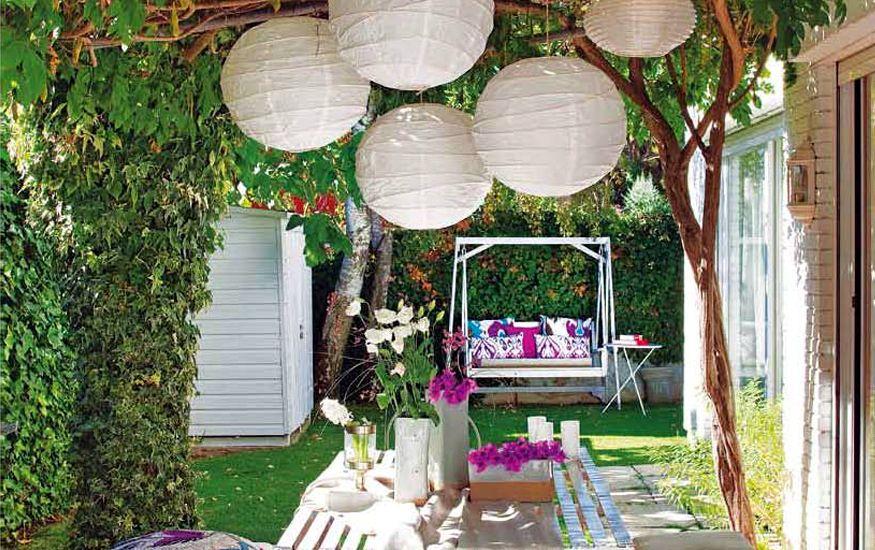 ideas jardines ideas para decorar jardines en ticos y terrazas - Decoracion De Jardines Exteriores