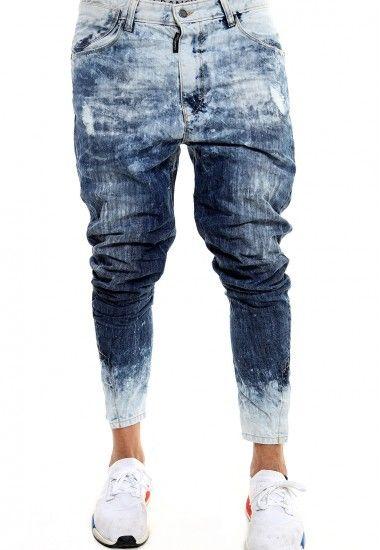 8c55e8927a los pantalones vaqueros de hielo frío