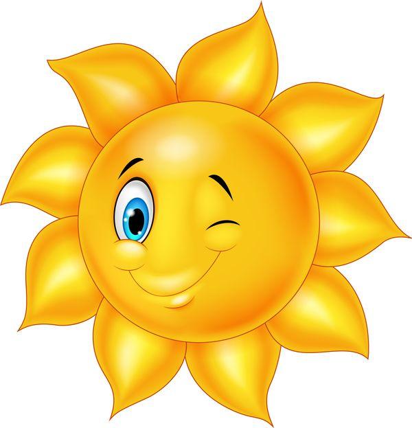 Cartoon Sun Smiling Face Vectors 08 Anoi3iatikes Xeirotexnies