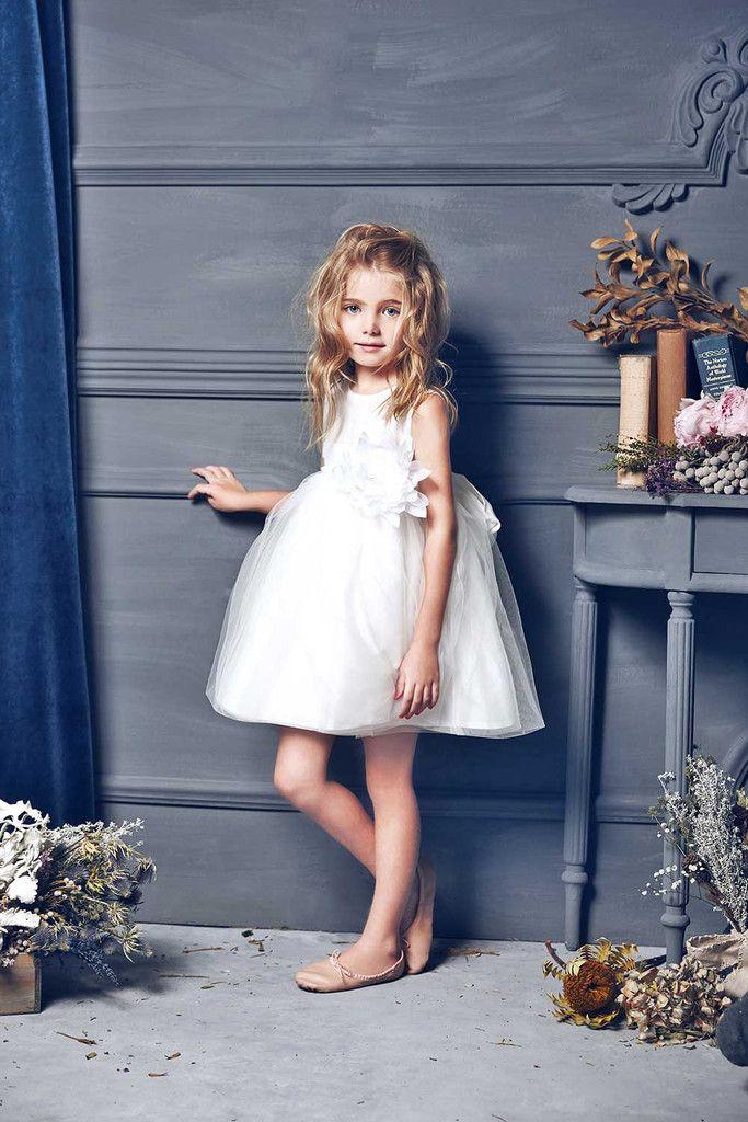 f51c483c8 Love by Nellystella Natalie Dress in White | Flower Girl Dresses ...