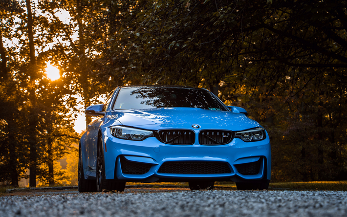 Download Wallpapers 4k, BMW M4, 2017 Cars, F82, BMW 4