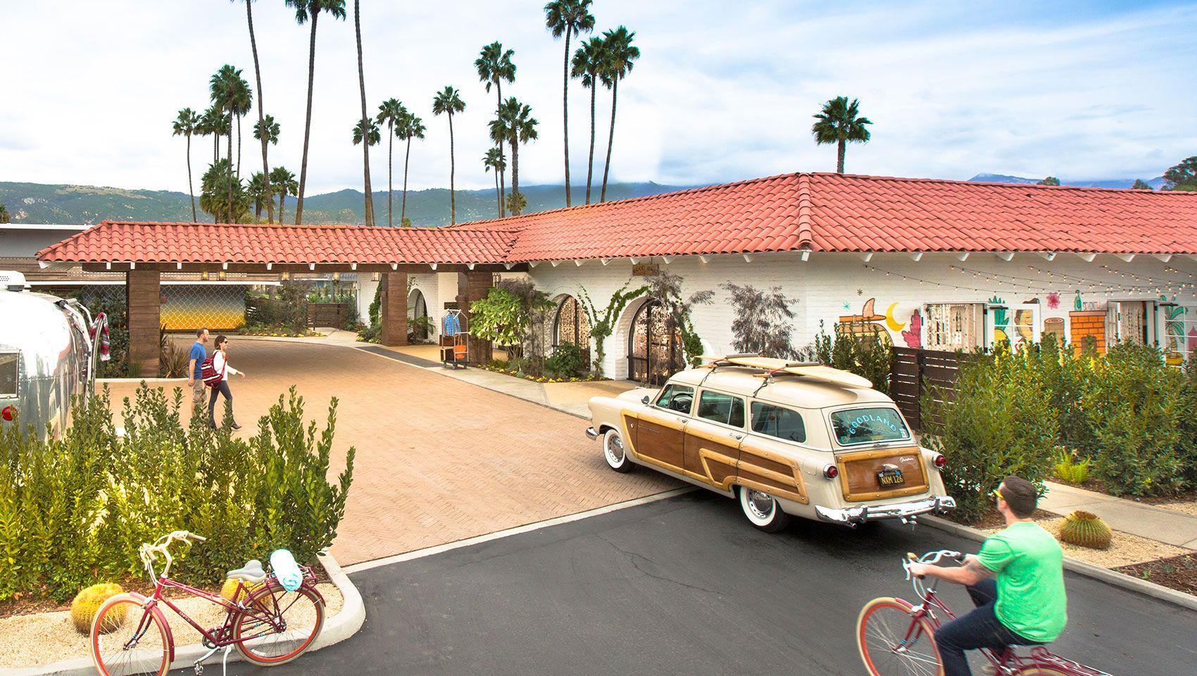 Santa Barbara Hotels >> Hotel Exterior At The Kimpton Goodland Coastal Living