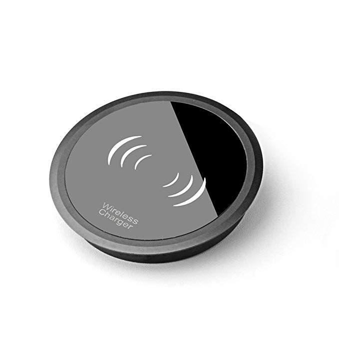 Wireless Charger Mini Portable Metal Qi Certified 10w Desk