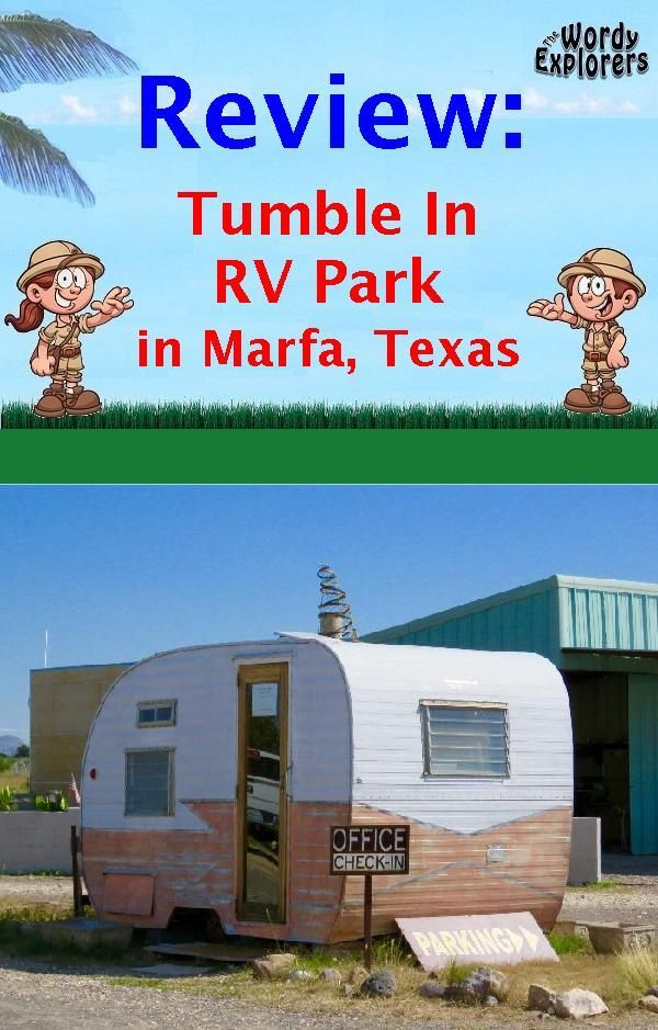 Review: Tumble In RV Park in Marfa, Texas | Rv parks ...
