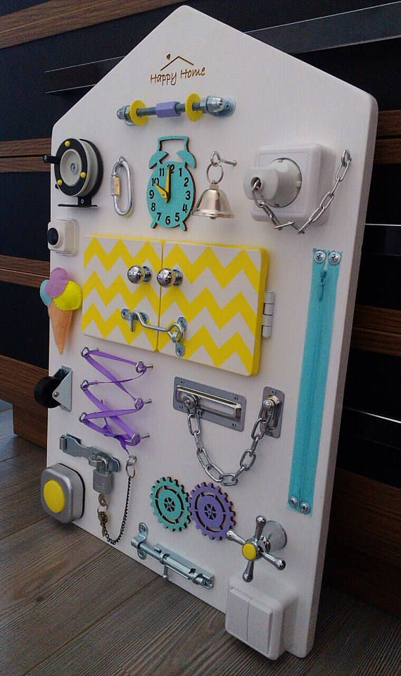 Busy Board Toddler Sensory Activity Board Baby Activity Board
