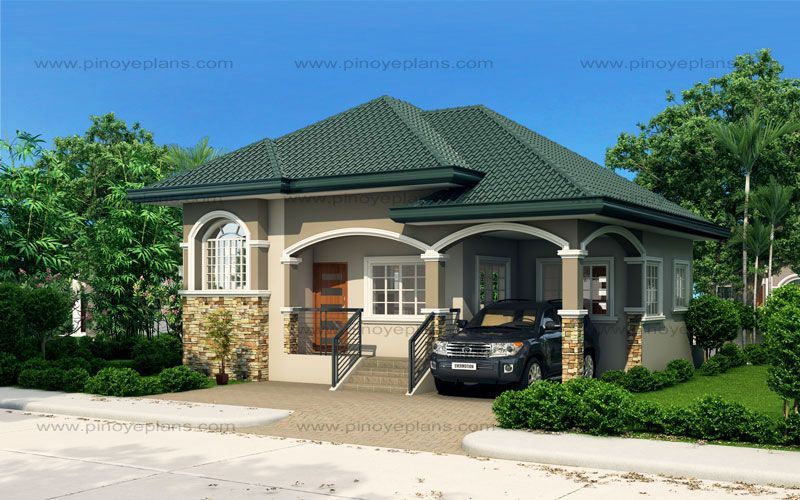 Atienza One Story Budget Home Shd 20115022 Pinoy Eplans One Storey House Modern Bungalow House Modern Bungalow House Plans