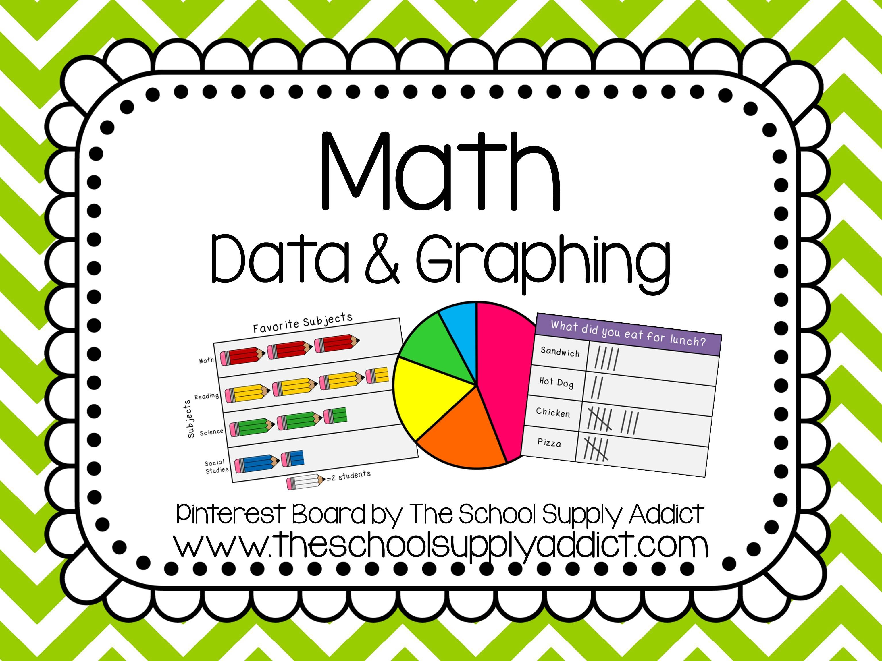 Data Amp Graphing Pin Board By The School Supply Addict