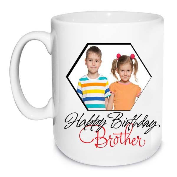 Birthday Mug For Brother Happy Birthday Brother. Hope today finds you surrounded by everything you love. | Rs. 324 | Shop Now | https://hallmarkcards.co.in/collections/birthday-gifts/products/buy-happy-birthday-personalized-mug-for-brother