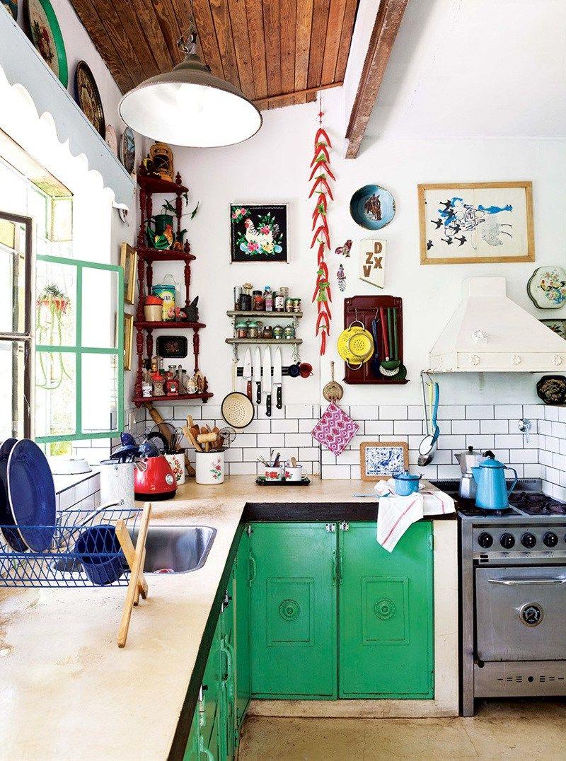 Un atelier au fond du jardin  Kitchen remodel, Eclectic home